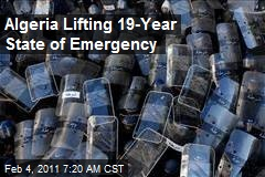 Algeria Lifting 19-Year State of Emergency