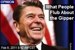 What People Flub About the Gipper