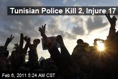 Tunisian Police Kill 2, Injure 17