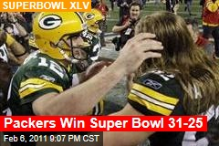 Packers Up 21-10 Over Steelers