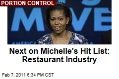 Michelle Obama's Next Target: Restaurant Industry