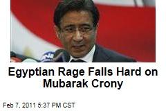 Egyptian Rage Falls Hard on Mubarak Crony