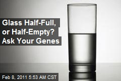 Glass Half-Full, or Half-Empty? Ask Your Genes