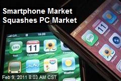 Smartphone Market Squashes PC Market