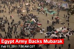 Protesters March to Mubarak's Palace