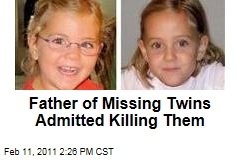 Father of Missing Twins Admitted Killing Them