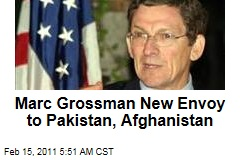 New US Envoy to Pakistan, Afghanistan Chosen