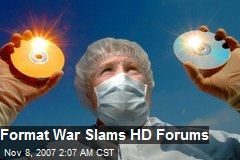 Format War Slams HD Forums