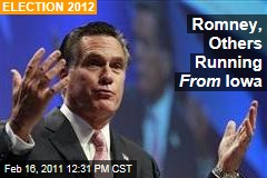 Iowa Caucuses: Mitt Romney, GOP Avoiding the State as It Swings Right