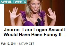 Journalist Nir Rosen Writes Tasteless Tweet About Lara Logan