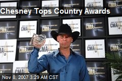 Chesney Tops Country Awards