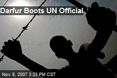 Darfur Boots UN Official