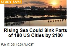 Climate Change: Sea Levels Threaten 180 US Cities by 2100
