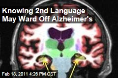 Knowing 2nd Language Protects Against Alzheimer's Disease