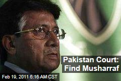 Pervez Musharraf: Pakistan Issues Second Arrest Warrant, Will Trace Ex-Prime Minister's Address
