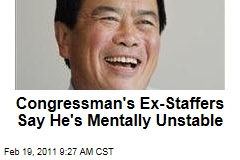 David Wu: Oregon Congressman's Ex-Staffers Say He's Mentally Unstable