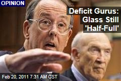 Erskine Bowles, Alan Simpson: Deficit Commission Co-Chairs See Glass as 'Half-Full'