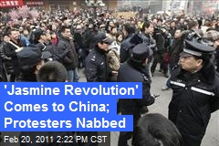 'Jasmine Revolution' Comes to China; Protesters Nabbed