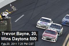 Trevor Bayne, 20, Wins Daytona 500