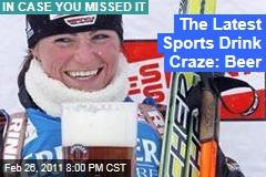 Erdinger Alkoholfrei: Non-Alcoholic Beer Touted as New Sports Drink