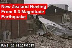 New Zealand Earthquake: Christchurch Reeling From 6.3-Magnitude Quake