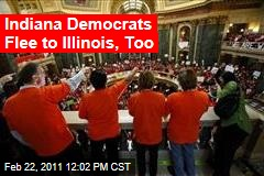 Indiana Democrats Flee to Illinois, Too