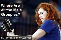 Where Are All the Male Groupies?