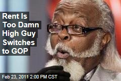 Jimmy McMillan, Rent Is Too Damn High Guy, Switches to Republican Party