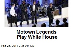 Motown Legends Play White House