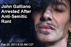 Fashion Designer John Galliano, of Christian Dior, Arrested After Anti-Semitic Rant