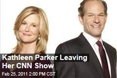 Kathleen Parker Leaving CNN Show 'Parker Spitzer'