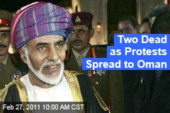 Oman Protests: Two Reported Dead as Sultan Qaboos bin Said Reshuffles Cabinet