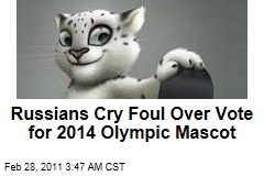 Sochi Olympic Mascots to Include Snow Leopard, Polar Bear