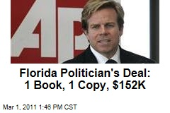 Mark Haridpolos: Florida State Senate President Gets $152,000 for Writing 1-Copy Book