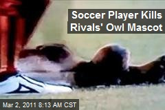 Soccer Player Kills Rivals' Owl Mascot