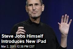 Steve Jobs Himself Introduces New iPad