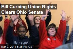 Bill Curbing Union Rights Clears Ohio Senate