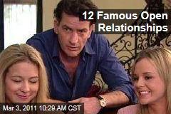 Charlie Sheen, Mo'Nique, Tilda Swinton, Hugh Hefner, and More Celebrity Open Relationships