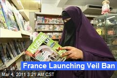 France Launching Veil Ban