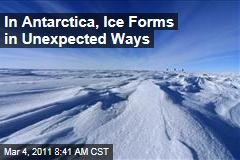 Scientists Find Ice Forming Under Sheets in Antarctica, Altering Search for Climate Change Data