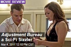 Matt Damon, Emily Blunt Sizzle in 'The Adjustment Bureau'
