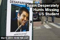 Austin Bice, Missing US Student, Desperately Sought in Spain