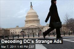 Decoding DC's Strange Ads