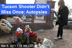 Tucson Autopsy Reports: Each Bullet Hit a Victim