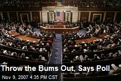 Throw the Bums Out, Says Poll
