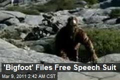 'Bigfoot' Files Free Speech Suit