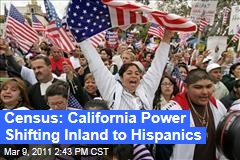 California Census: Hispanics Nearly on Par With White Population