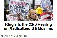 Peter King's Radical Muslim Hearings Not the First