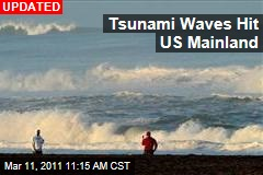 Tsunami Warning Extended to Entire US West Coast