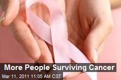 More People Surviving Cancer